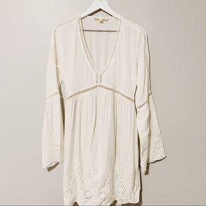 Lovely Boho White Dress x Love Stitch